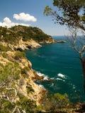 brava costa krajobraz typowy Obrazy Royalty Free