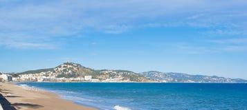 brava costa krajobrazy Fotografia Royalty Free