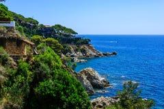 Brava de la costa de los estados Imagen de archivo libre de regalías