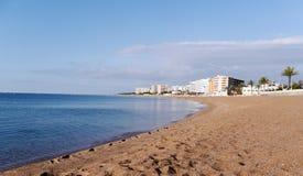 Brava de la costa, paisaje, Blanes Girona Fotos de archivo libres de regalías