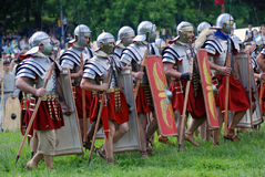Brave men ready for the fight. Royalty Free Stock Photo