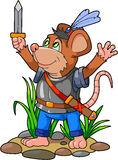 Brave mouse Royalty Free Stock Photography