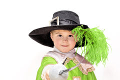 Brave musketeer Royalty Free Stock Photos