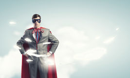 Brave super hero Royalty Free Stock Photos