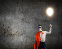 Brave superhero Stock Photos