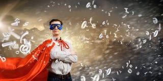Brave superhero Royalty Free Stock Images