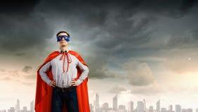 Brave superhero Royalty Free Stock Photography