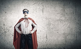 Brave superhero Royalty Free Stock Photography