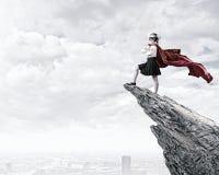 Brave superkid Stock Photos