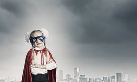Brave superkid Royalty Free Stock Photography
