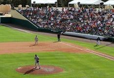 Braves und Mets am Meisterstadion Lizenzfreie Stockfotos