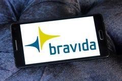 Bravida construction company logo Royalty Free Stock Photo