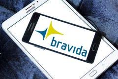 Bravida construction company logo Stock Photography