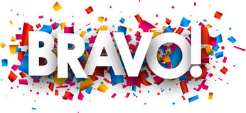 Free Bravo Banner. Stock Image - 91022451