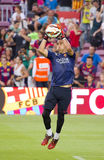 Bravo de FC Barcelona Image stock
