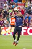 Bravo do FC Barcelona Imagem de Stock