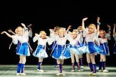 Bravo, dzieciaka Belarussian konkurs na choreografii Zdjęcie Stock