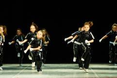 Bravo, dzieciaka Belarussian konkurs na choreografii Obrazy Stock