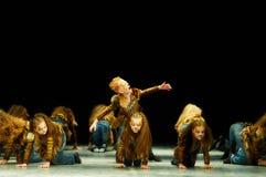 Bravo, kids Belarussian contest on choreography Stock Photos