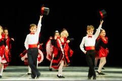 Bravo, kids Belarussian contest on choreography Stock Image