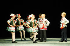 Bravo, kids Belarussian contest on choreography royalty free stock photo