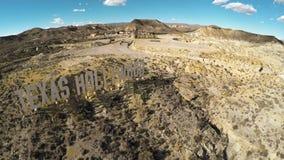 Bravos de fort Studio de film dans le désert espagnol Images libres de droits