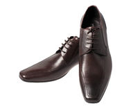 The brawn man's shoes isolated Stock Photo