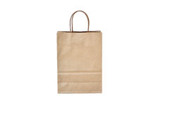 Brawn shopping bag Stock Images
