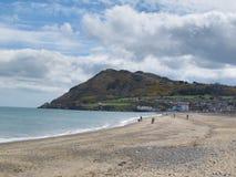 Bray Beach. A view of Bray, Ireland Stock Image