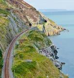 Bray Cliff Walk Arkivfoton