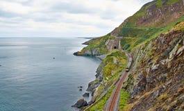 Bray Cliff Walk Arkivbilder