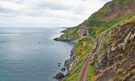 Bray Cliff Walk Stock Images