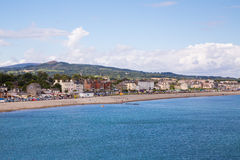 Bray Coastline, Co Wicklow Royalty-vrije Stock Fotografie
