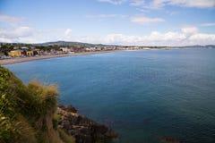 Bray Coastline, Co Wicklow Fotografía de archivo libre de regalías