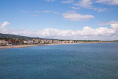 Bray Coastline, Co. Wicklow Stock Photo