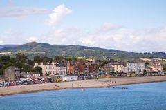 Bray Coastline, Co. Wicklow. A view along the Coastline in Bray, County Wicklow, Ireland Stock Images