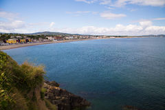 Bray Coastline, Co. Wicklow Royalty Free Stock Photography