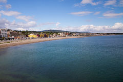 Bray Coastline, Co. Wicklow Royalty Free Stock Photos