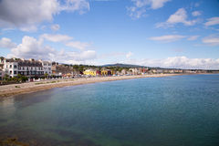 Bray Coastline, Co. Wicklow Stock Image
