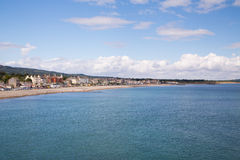 Bray Coastline, Co. Wicklow Stock Photography