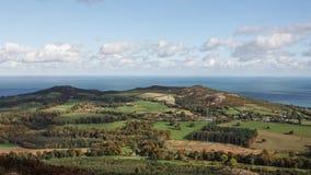 Bray Head e Mare di Irlanda Fotografia Stock