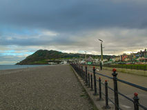 Bray Promenade. A picture of Bray Promenade, County Wicklow, Ireland Royalty Free Stock Image