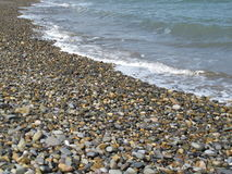 Bray stones. Beach of Bray, in Ireland Royalty Free Stock Photos