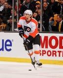 Braydon Coburn Philadelphia Flyers Defenseman Royalty Free Stock Images