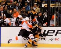 Braydon Coburn Philadelphia Flyers Defenseman Stock Fotografie