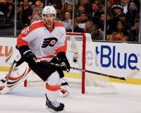 Braydon Coburn Philadelphia Flyers Defenseman Royalty-vrije Stock Afbeeldingen