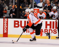Braydon Coburn Philadelphia Flyers Defenseman Imagem de Stock