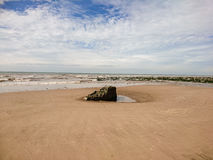 Braystones海滩 库存图片
