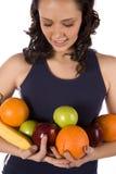 Brazado de fruta que mira abajo Imagenes de archivo