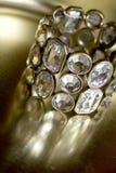 Brazalete del diamante Fotografía de archivo